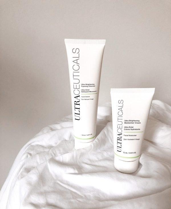 Ultraceuticals Ultra Brightening Moisturiser Cream & Foaming Cleanser
