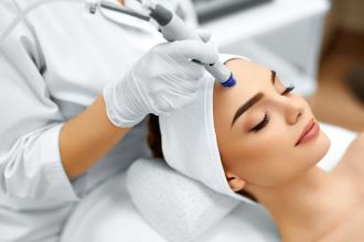 Microdermabrasion micro facial with diamond wand - Elements Beauty Spa